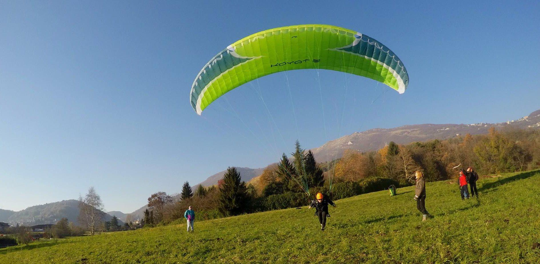 Deltaplano e Parapendio - Volo Libero Bergamo - GIOCODELVOLO